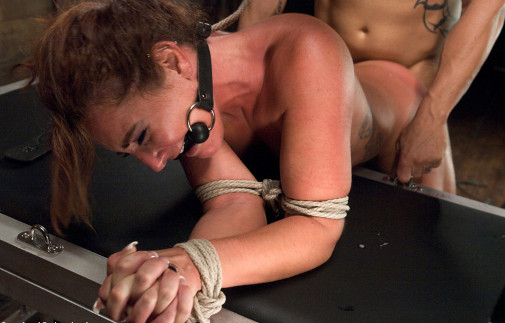 Rough Bondage Fuck For Lory 3