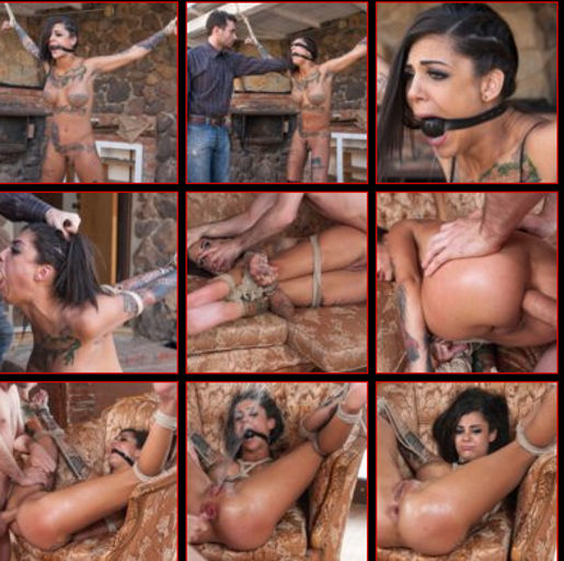 brunette bdsm submission